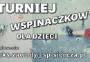 """Zgłoszenia do turnieju """"Solna Ściana"""""""